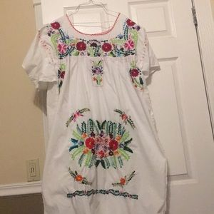 Home made large dress